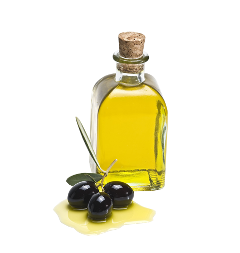 Olive oil bottle trans